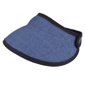 Vizor rulabil albastru