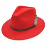 Palarie fedora tip cowboy rosie