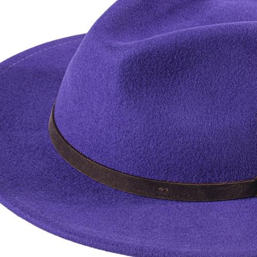 Palarie fedora violet